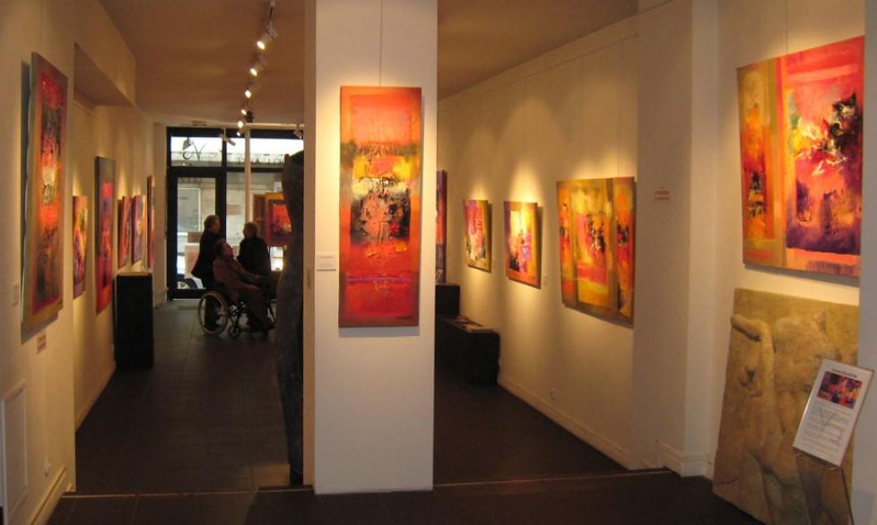 Expo galerie Visio D'ell arte Paris 2010 (2)