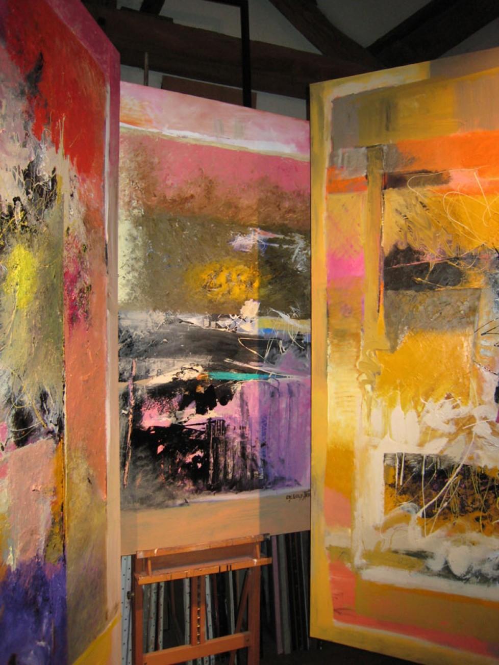 vue de l'atelier 2008