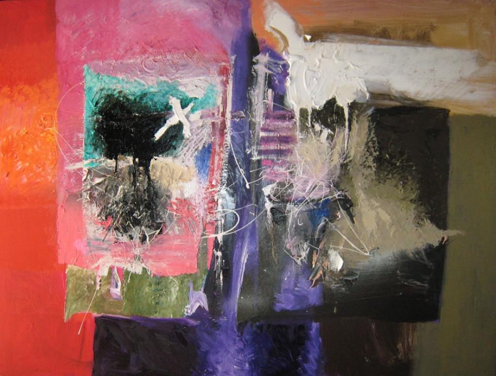 Dans un tumulte au silence pareil n°1 (Paul Valery) (89×116)