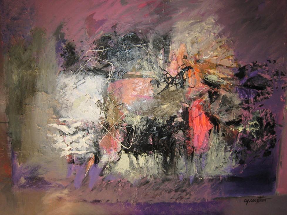 Dans un tumulte au silence pareil (Paul Valery) (89×116)