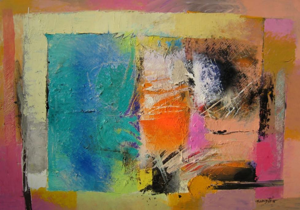 Pareil aux arbres du silence n°2 (97×145)