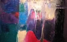 Rouge sang l'eau de la Zielawa n°2 (162×130)