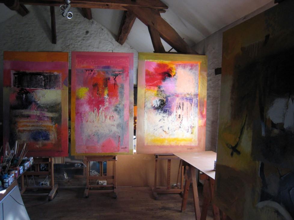 vue de l'atelier 2009