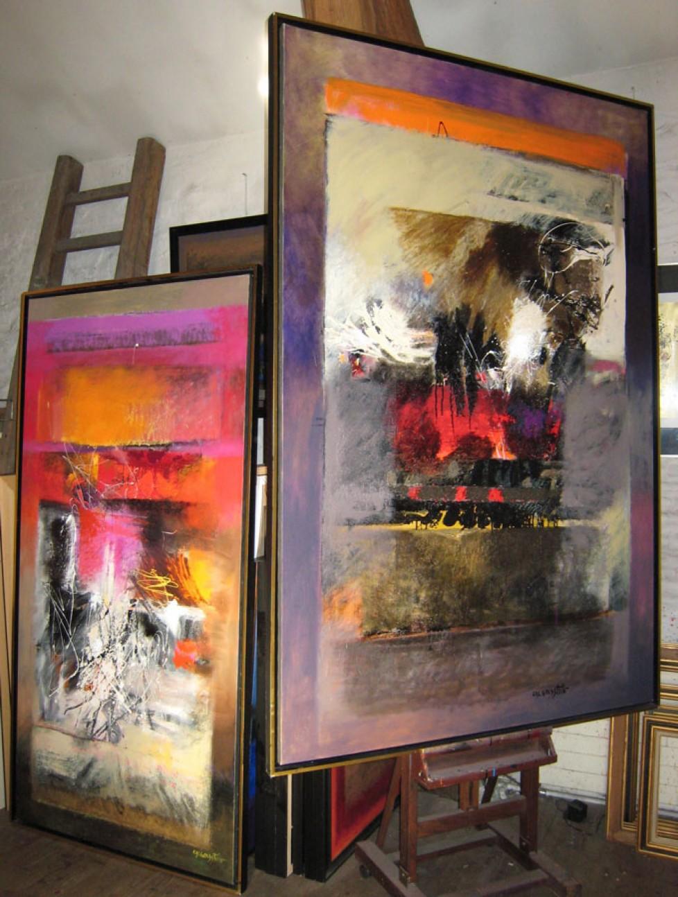 vue de l'atelier 2010