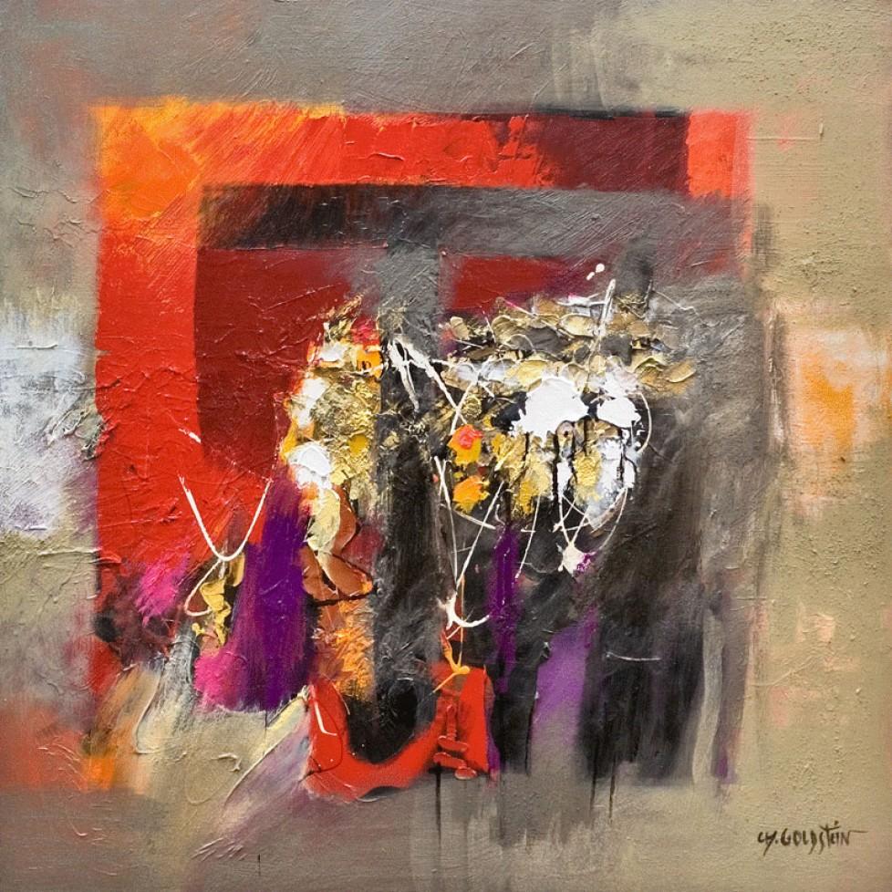 Tant de vies mélées n°1 (80×80)