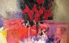 Une fosse dans les airs ou on n'est pas serré (Paul Celan) (146×89)